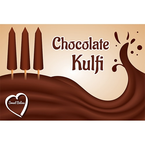 Chocolate kulfi poster artwork